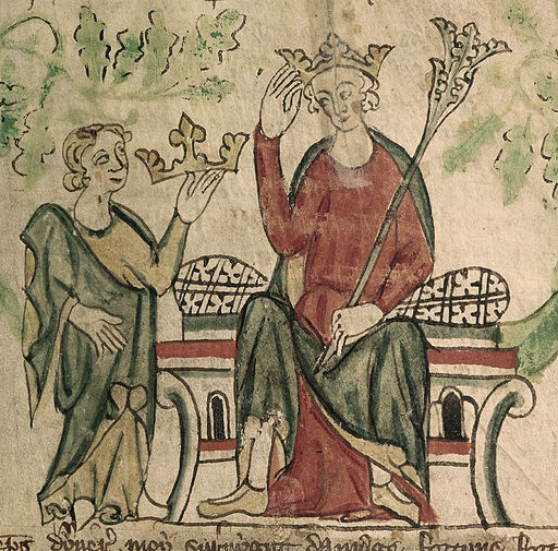 Edward II - British Library Royal 20 A ii f10 (detail)