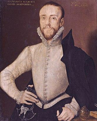 Edward Seymour, 1st Earl of Hertford - Image: Edward Seymour, Earl of Hertford, Attributed to Hans Eworth (1515 1574)