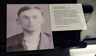 Cleveland Torso Murderer - Image: Edward W. Andrassy