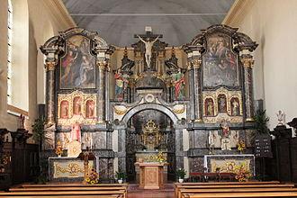 Troisvierges - Image: Eglise Saint André Troisvierges 03