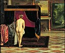Eglon Hendrik van der Neer - Kandaules' Wife Discovering the Hiding Gyges - Google Art Project.jpg