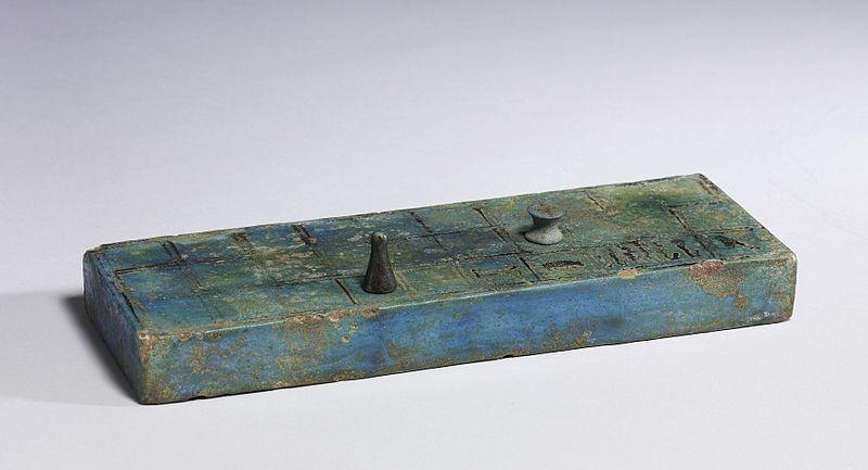 "File:Egyptian - ""Senet"" Board - Walters 48408 - Three Quarter.jpg"