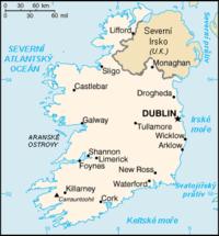 Schematická mapa