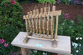 Eight-pitch Angklung, Mitchell Park, Milwaukee.jpg