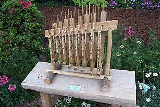Angklung - Angklung with eight pitches