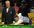 Eirian Williams and Mark Selby at Snooker German Masters (DerHexer) 2013-01-31 05.jpg