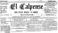 El Calpense 1894, cover.jpg