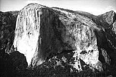 El Capitan from Lower Cathedral Spire by Tom Frost.jpg