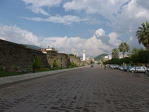 Elbasan - Main Boulevard in Elbasan