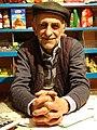 Elderly Shopkeeper - Village of Xinaliq - Caucasus Mountains - Azerbaijan (17893090850).jpg