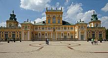 Wilanów Palace in Warsaw