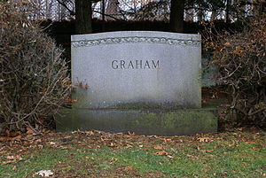 Elizabeth Arden - The grave of Elizabeth Arden in Sleepy Hollow Cemetery.