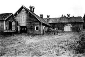 Northwest School (art) - Elliot Dairy Farm, photograph by Mary Randlett (1920)