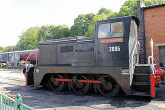 Earl of Strafford - Diesel locomotive No 2895 Earl of Strafford of the Elsecar Heritage Railway