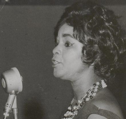 Elza Soares, 1964. Arquivo Nacional.