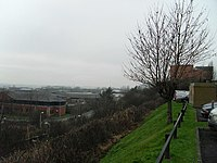Embankment to the north of Singer station - geograph.org.uk - 656436.jpg