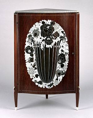 Émile-Jacques Ruhlmann - Corner Cabinet, ca. 1923 Brooklyn Museum