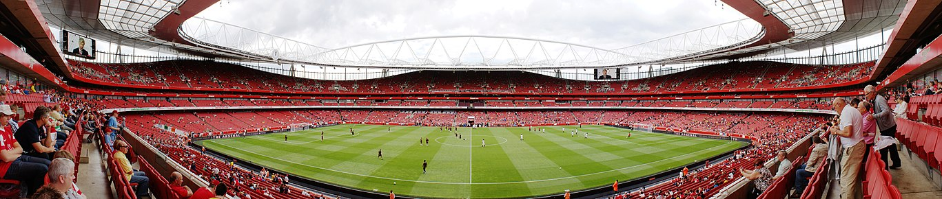 cdaccde9d A panorama of the Emirates Stadium