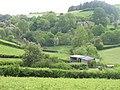 Enclosed land and barns, Cwmaran - geograph.org.uk - 842664.jpg