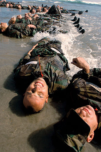United States Navy SEAL selection and training - Image: Endurance training August 2004