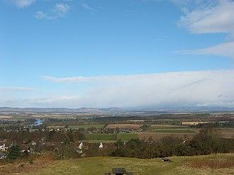 Kinnoull Hill - Image: England and Scotland 153