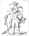 English Caricaturists, 1893 - Anything will do for an Officer.png