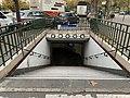 Entrée Station Métro Porte St Cloud Paris 3.jpg
