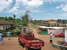 Cameroun-Santé-Entrée de l'Hôpital Ad Lucem, Bafang - panoramio