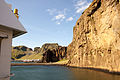 Entrance to the harbour of Vestmannaeyjar from the ferry Herjolfur-5.jpg