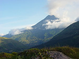 Der Tungurahua am 28. November 2004