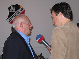 English: Werner Erb is interviewed Deutsch: We...