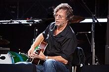 Eric Clapton in concerto a Londra il 28 giugno 2008