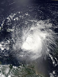 Tropical Storm Erika Atlantic tropical storm in 2015