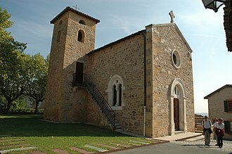Belmont-d'Azergues - The church of Saint-Julien, in Belmont-d'Azergues