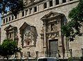 Església de sant Joan del Mercat, façana de la plaça del Mercat.JPG