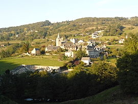 A general view of Espeyrac