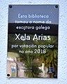 Esta biblioteca tomou o nome da escritora Xela Arias.jpg