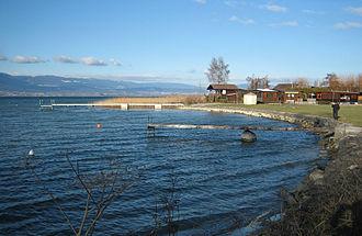 Estavayer-le-Lac - Lake front at Estavayer-le-Lac