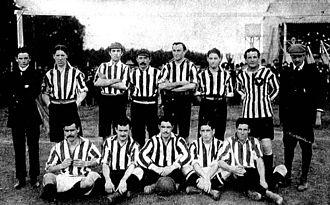 Estudiantes de Buenos Aires - Estudiantes team of 1907.