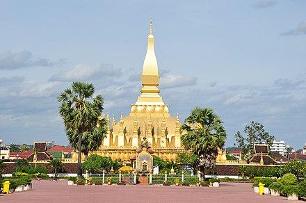 Pha That Luang in Vientiane. Estupa That Luang.JPG