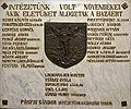 Esztergom Vitéz János Kar emléktábla 1.jpg