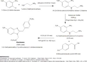 Etonitazene - Etonitazene 1975 synthesis
