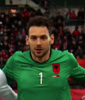 Etrit Berisha Albanian footballer