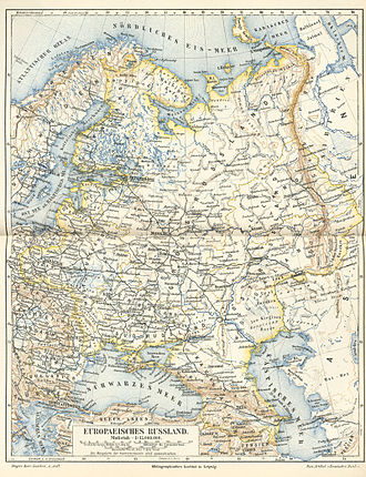 Great Russia - Image: Europäisches russland