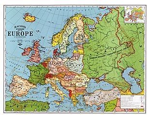Pre Wwi World Map.Interwar Period Wikipedia