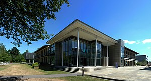 European Nucleotide Archive - The EBI at the Wellcome Trust Genome Campus in Hinxton, UK which hosts the European Nucleotide Archive.