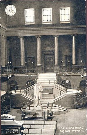 Euston railway station - The Great Hall, Euston Station