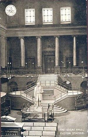 Euston railway station - The Great Hall, Euston Station