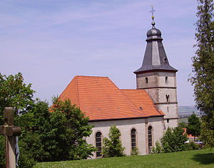 Wattenheim - The Evangelical church