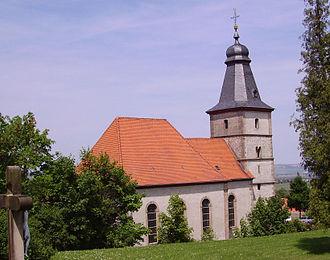Wattenheim - The Evangelical church
